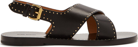 Isabel Marant Jane cross-strap stud-embellished sandals