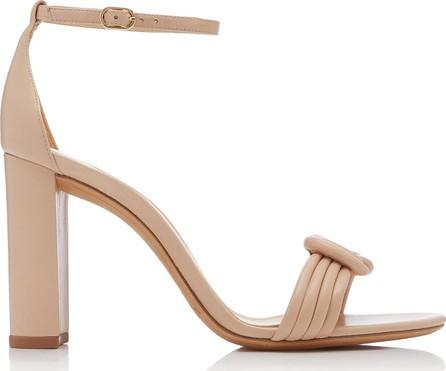 Alexandre Birman Vicky Knotted Leather Sandals