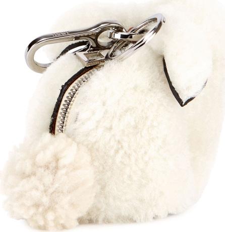 LOEWE Shearling Fur Bunny Bag Charm