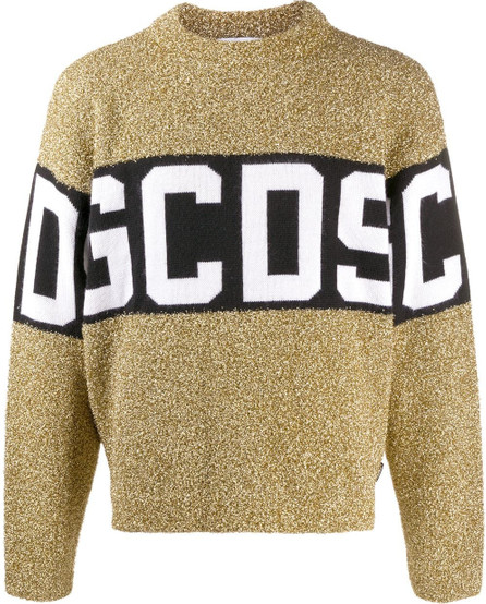 Gcds Metallic logo jumper