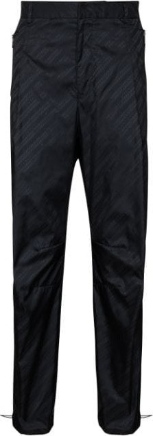 Givenchy Chain-print loose-fit trousers