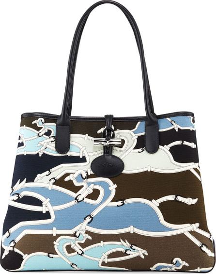 Longchamp. Roseau Galop Tote Bag