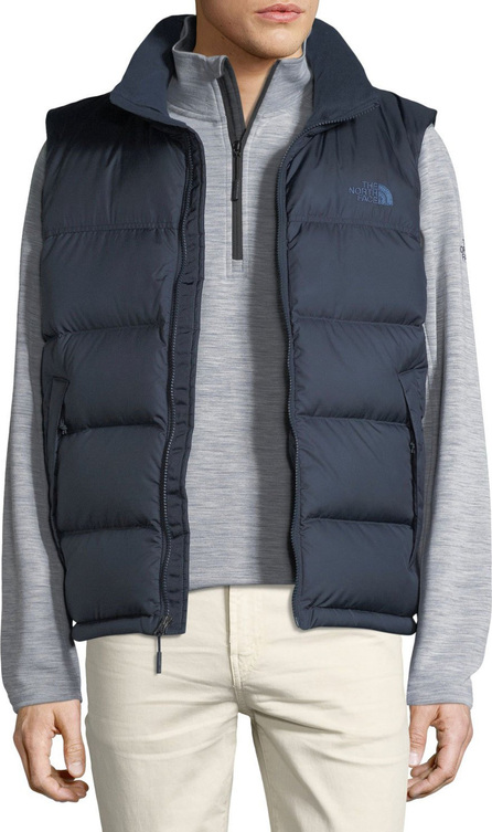 The North Face Nupste Quilted Down Vest, Urban Navy