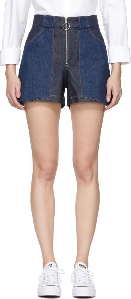 A.P.C. Indigo Denim Chrissie Shorts
