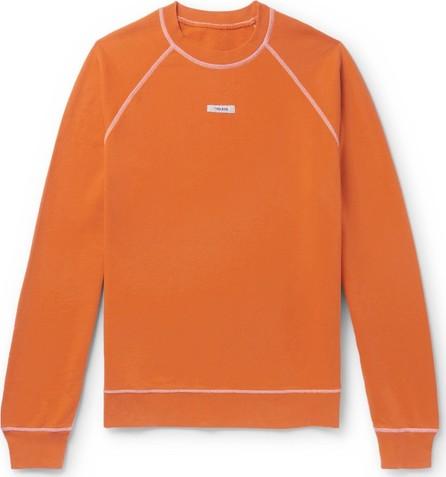 Très Bien Logo-Appliquéd Loopback Cotton-Jersey Sweatshirt