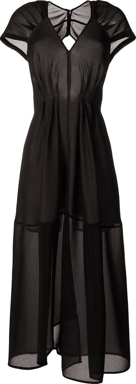 Victoria Beckham Long sheer dress