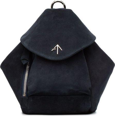Manu Atelier Mini Suede Fernweh backpack