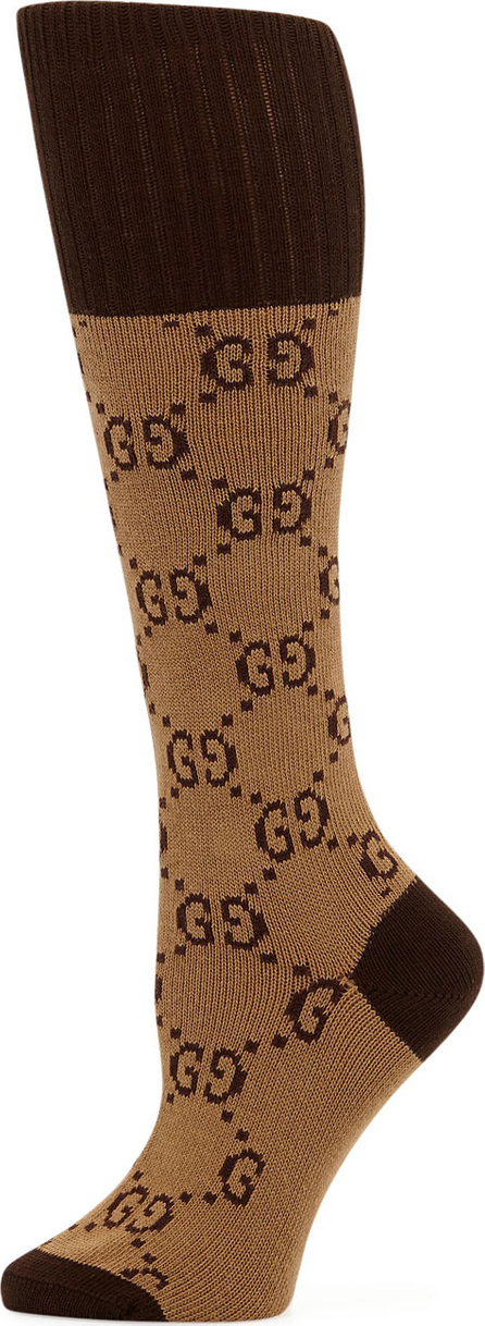 Gucci GG Supreme Long Socks