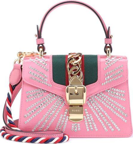 Gucci Sylvie Mini satin shoulder bag