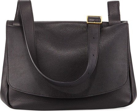 THE ROW Small Leather Mail Saddle Bag