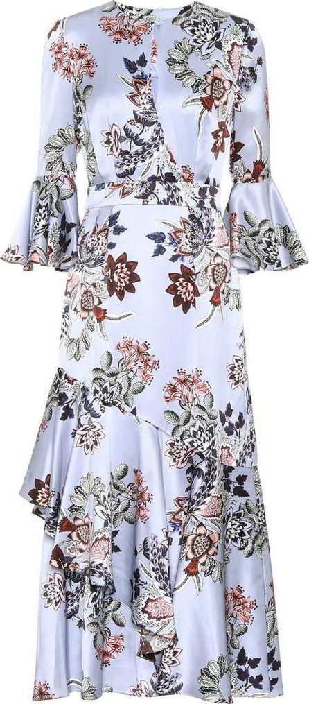 Erdem Florence floral-printed silk dress