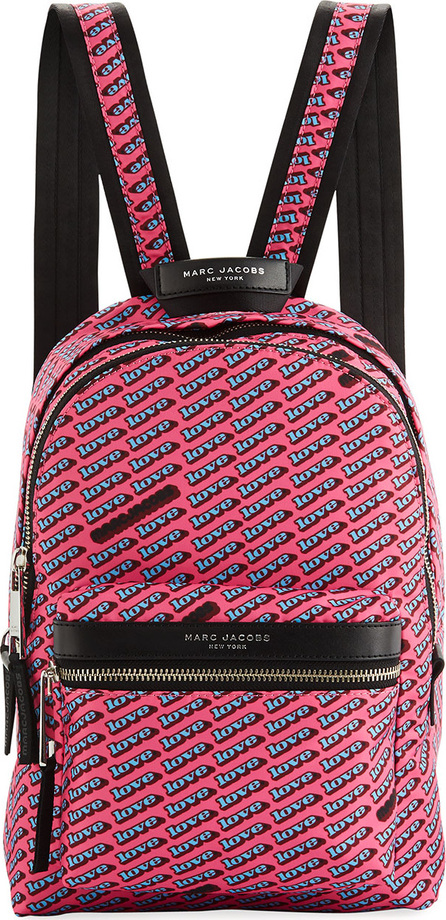 MARC JACOBS Medium Love-Print Canvas Backpack