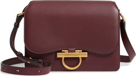 Salvatore Ferragamo Medium Classic Flap Leather Shoulder Bag