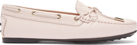 Tod's Gommino lace-up leather loafers