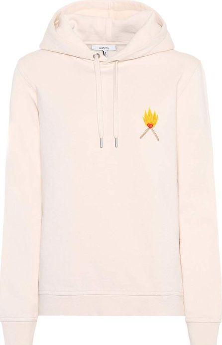 Ganni Lott Isoli cotton-jersey hoodie