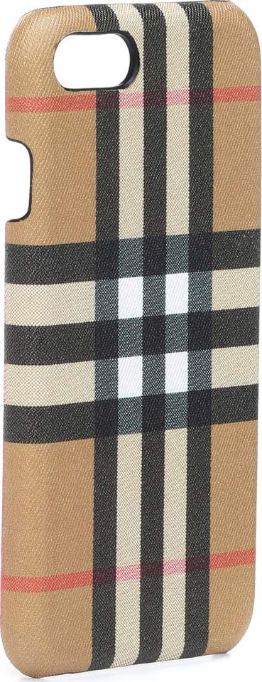 Burberry London England Check leather iPhone 6s case