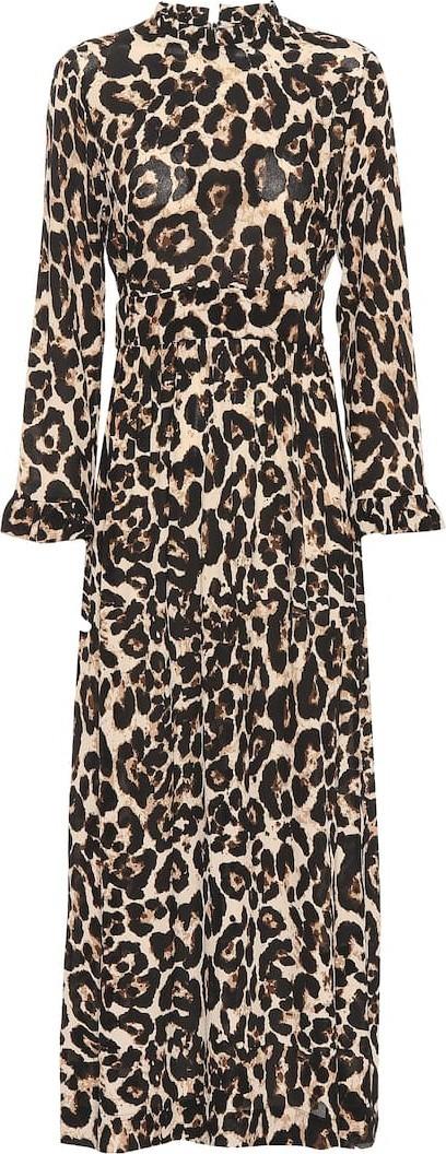 Baum und Pferdgarten Exclusive to Mytheresa – Alitha leopard midi dress