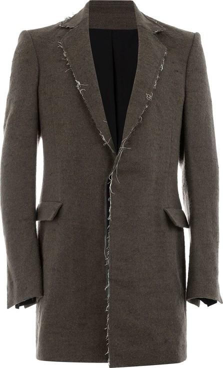 Cedric Jacquemyn Raw hem single-breasted coat
