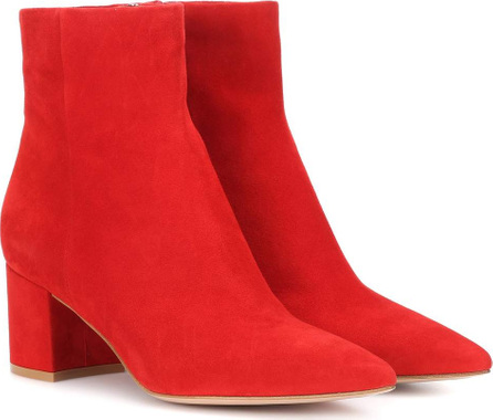 Gianvito Rossi Piper 60 suede ankle boots