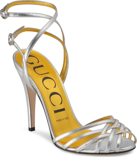 Gucci Draconia Ankle Strap Sandal