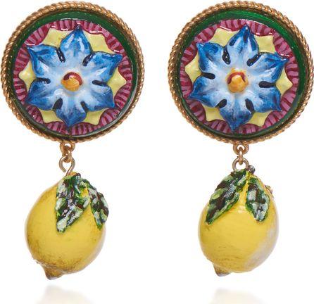 Dolce & Gabbana Lemon Drop Earrings