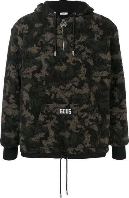 Gcds Camouflage print hoodie