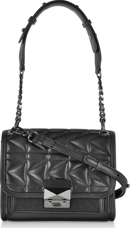 Karl Lagerfeld K/Kuilted Mini Leather Shoulder Bag