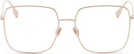Dior 'Dior Stellaire 1' metal sqaure optical glasses