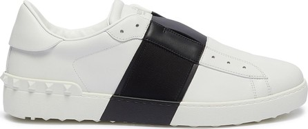 Valentino Rockstud colourblock leather slip-on sneakers