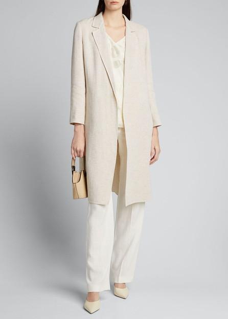 Lafayette 148 New York Nicholas Linen Dune Cloth Jacket