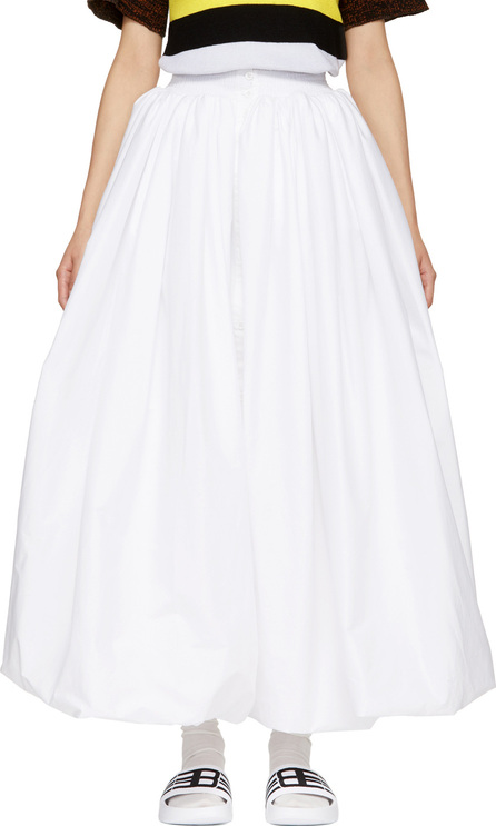 Anton Belinskiy White Padded Skirt