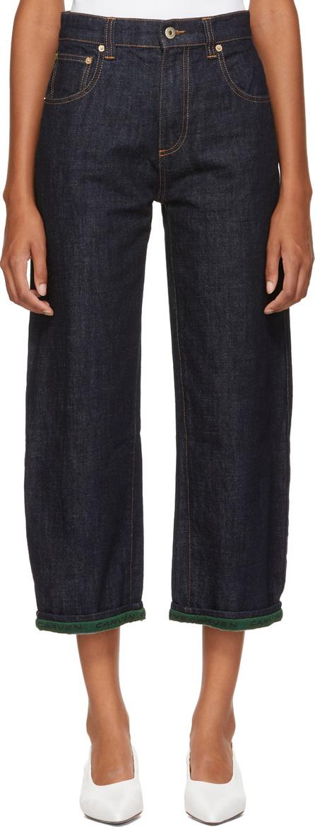 Carven Indigo Boyfriend Jeans