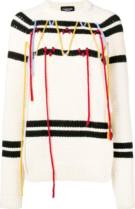 Calvin Klein 205W39NYC Fringed jumper