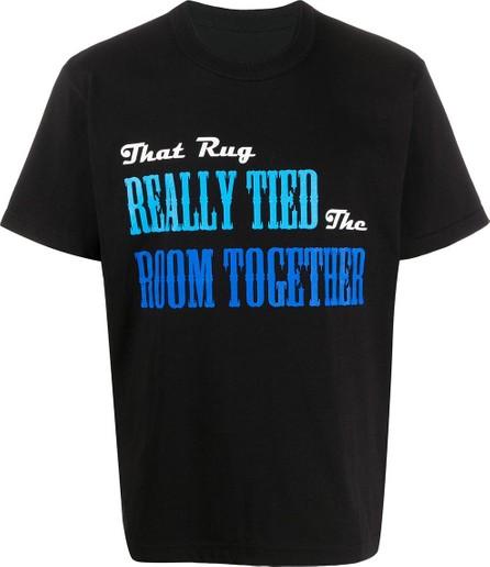 Sacai Slogan print T-shirt