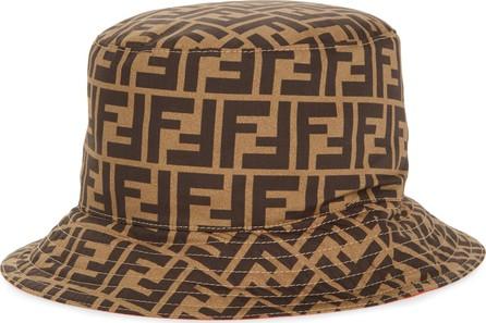Fendi Double F Logo Bucket Hat
