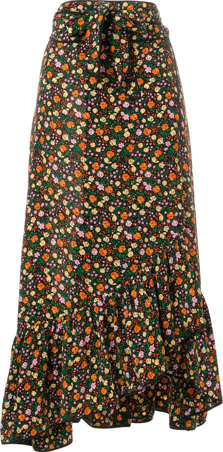 Ganni Joyce floral print skirt