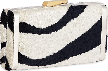 Hayward Venetian Brocade Long Slim Box Clutch Bag
