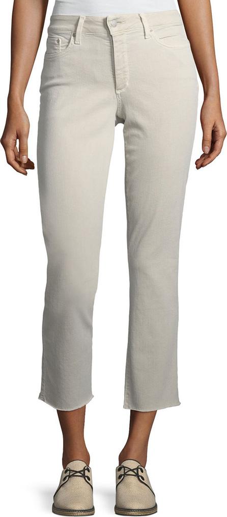 NYDJ Sheri Slim Frayed-Hem Skinny Jeans