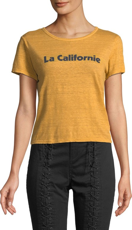 A.L.C. La Californie Graphic Crewneck Tee