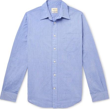 Bellerose Slim-Fit Cotton-Seersucker Shirt