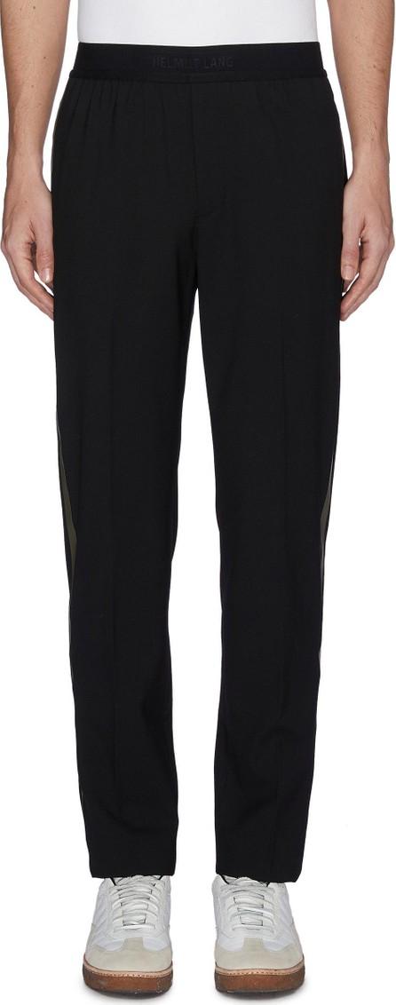 Helmut Lang Stripe outseam wool pants