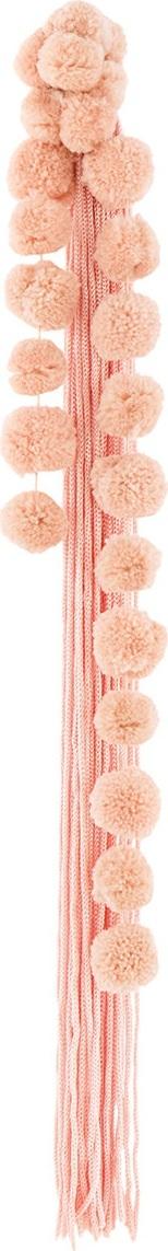 Nº21 long tassel earring