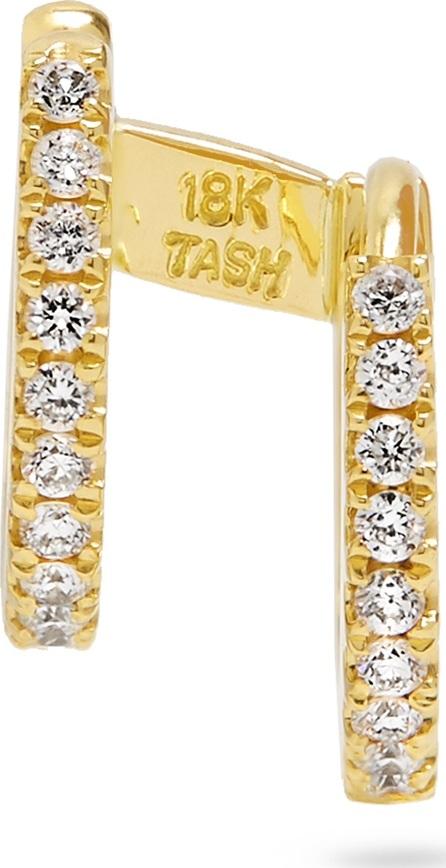 Maria Tash Diamond & yellow-gold earring