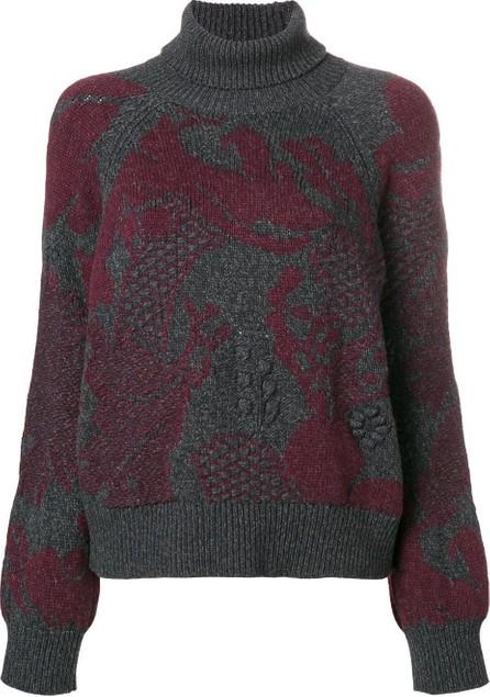 Barrie Stencil Garden Cashmere Sweater