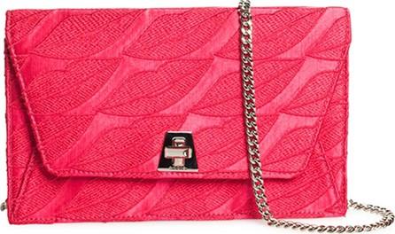 Akris Anouk Envelope Lips Embroidery Clutch Bag