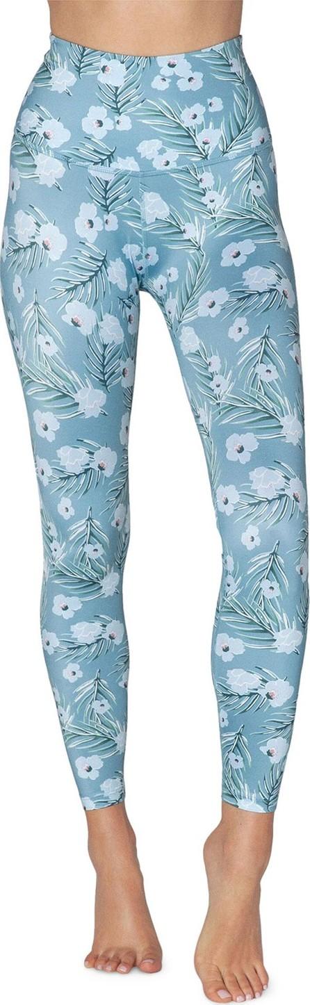 Beyond Yoga Lux Floral-Printed High-Waist Midi Leggings