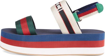 Gucci Bedlam Colorblock Platform Sandal