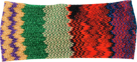 Missoni Zig-zag knitted hairband