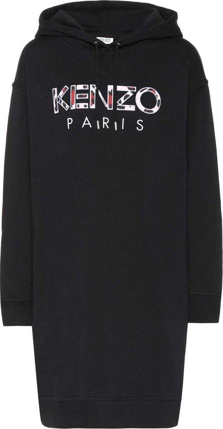 KENZO Logo cotton hoodie dress