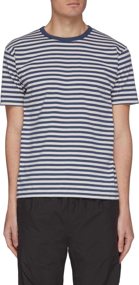 Nanamica 'Coolmax' Stripe T-shirt